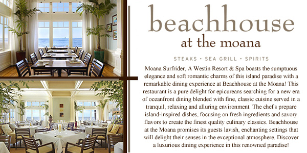 Beachhouse at the Moana
